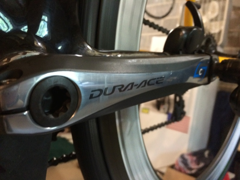 Stages DuraAce 7900 Power Meter