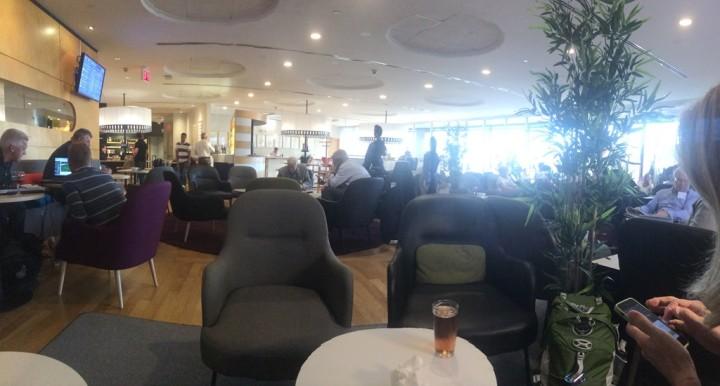 The SAS Lounge - Newark Airport