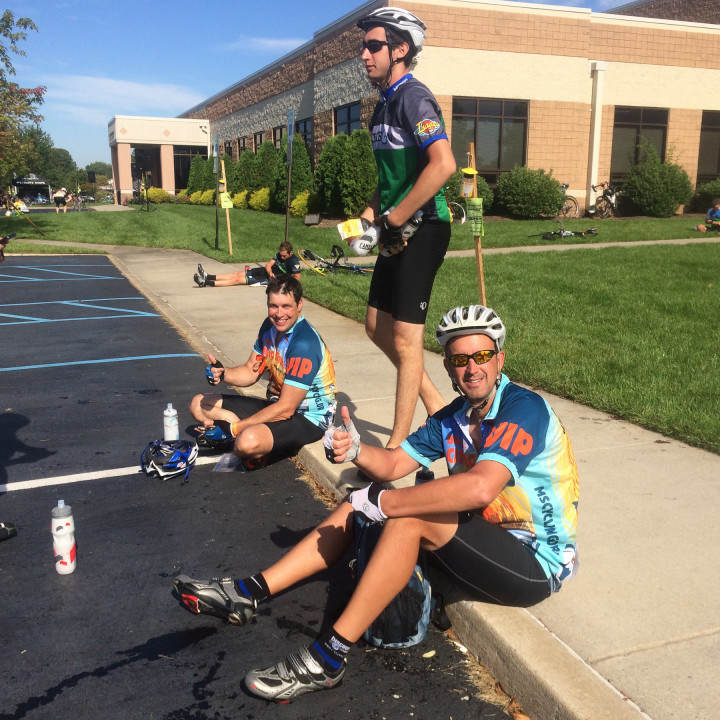Cycling, charity, ms, ride