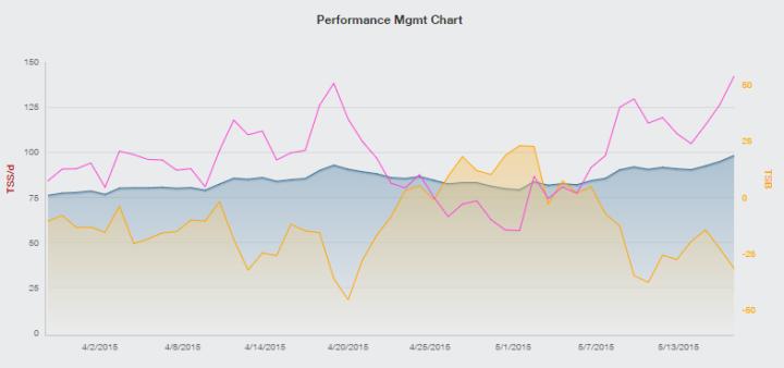 Training Peaks PMC Chart IMCDA Week 20
