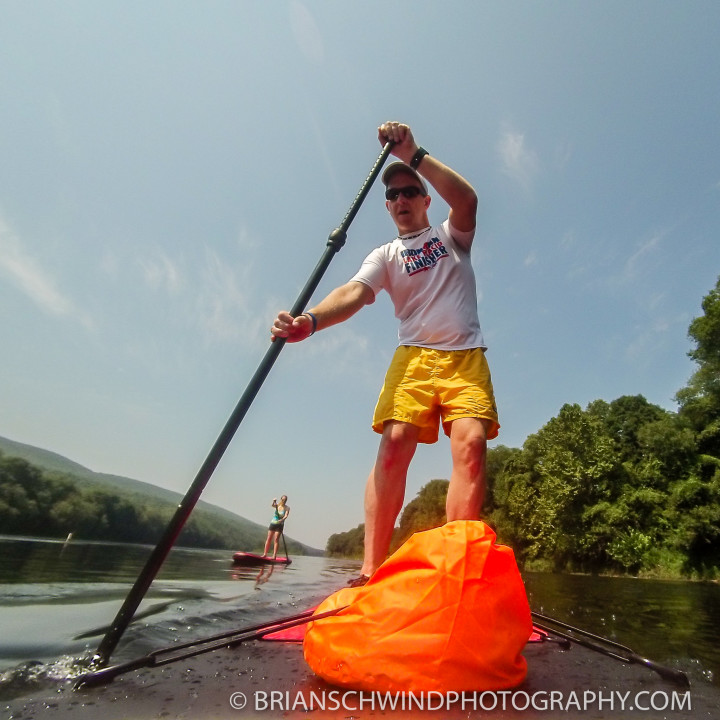 SUP on the Delaware