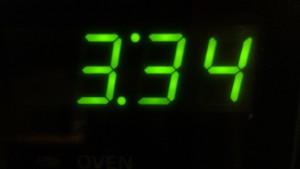 Early Morning Wake-up at 3:34 AM