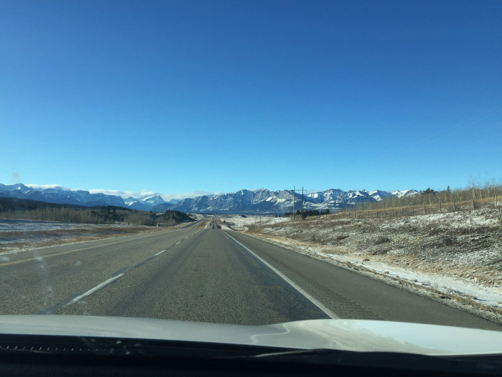 Canadian Rockies in Sight