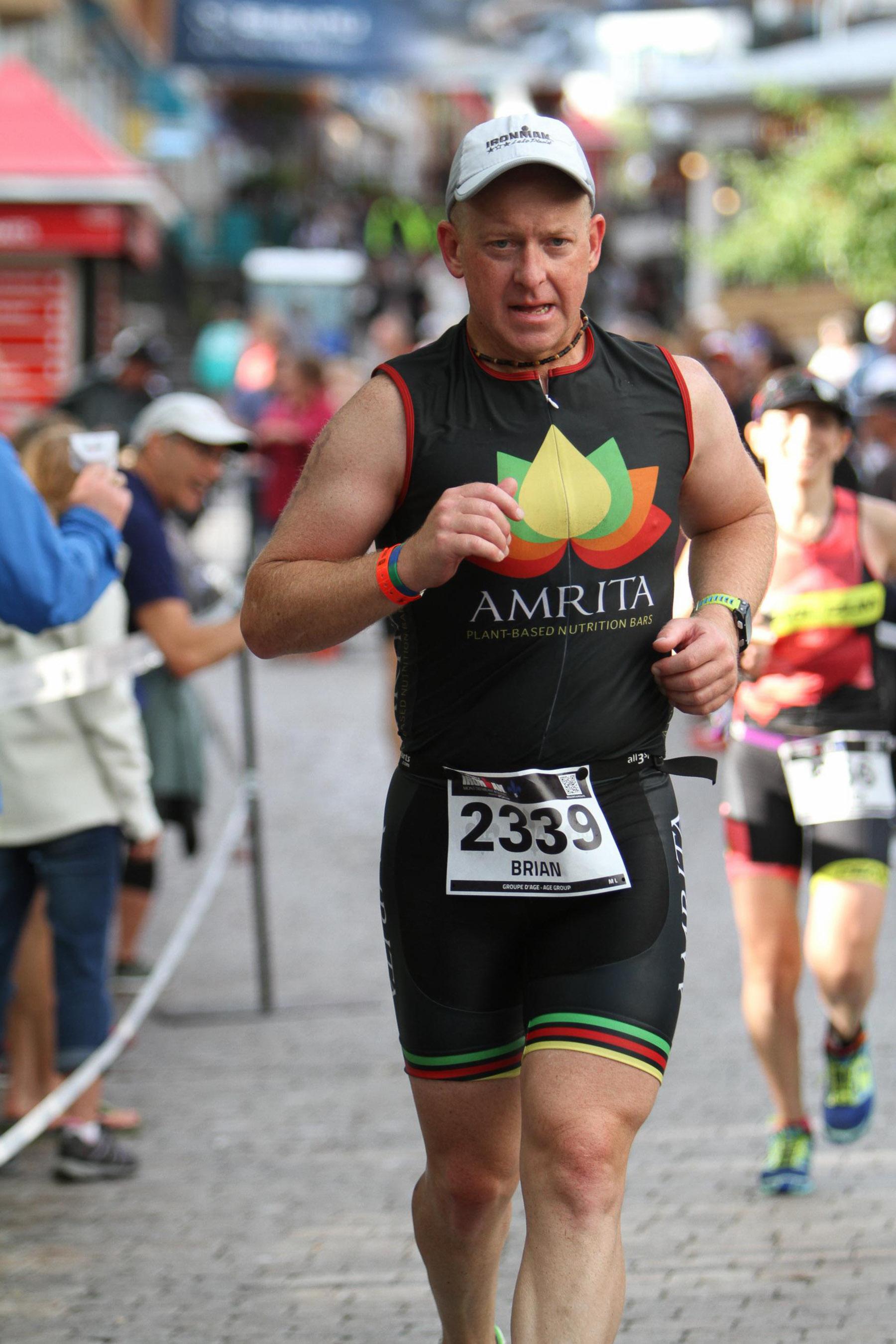 Ironman Mont-Tremblant 2016 - Heading towards the finish line!